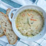 Creamy Wild Rice and Chicken soup http://theblissofthis.com/category/recipes/