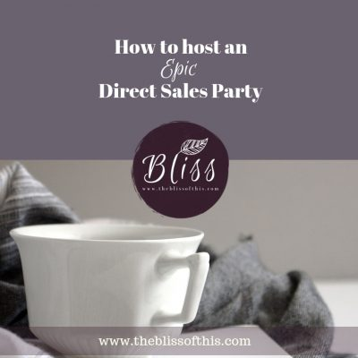 Direct Sales Party Hosting Tips