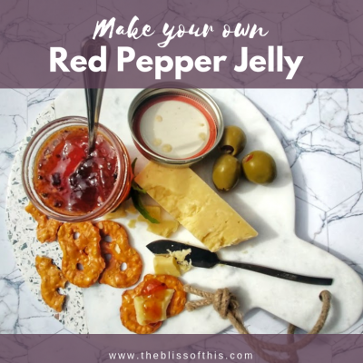 Make your own Red Pepper Jelly