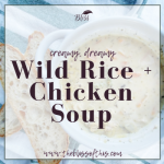 http://theblissofthis.com/hearty-wild-rice-and-chicken-soup/