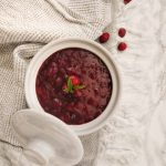 Cranberry sauce with grand marnier