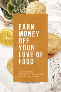 earn money off your love of food Epicure opportunity