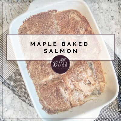 Easy Maple Baked Salmon
